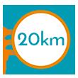 20 km di spiaggia